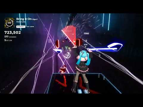 [Beat Saber] Bring It On ( 劣等上等 ) - 1262/1267 - Rank S (86.8%)