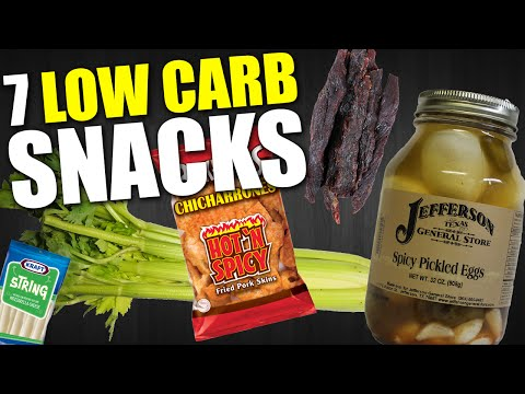 Video 7 QUICK & EASY LOW CARB SNACKS