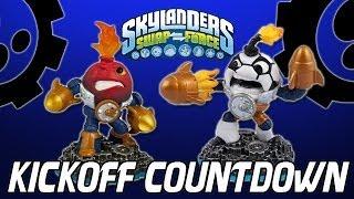 Lets Play: Kickoff Countdown with Lightcore Countdown (Skylanders Swap Force)