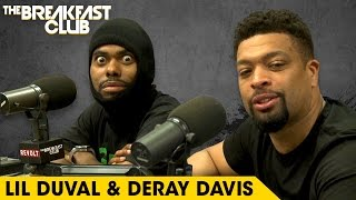 Lil Duval & DeRay Davis Get Wild On The Breakfast Club, Talk 'Grow House' & More