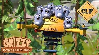 Un drone pour les Lemmings - Grizzy & les Lemmings