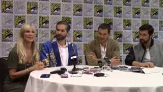 Hannibal - Hugh Dancy, Richard Armitage, Bryan Fuller Interview