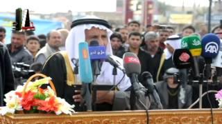 preview picture of video 'الشاعر مخلف عنيزان الشمري في ميدان الحق / سامراء'