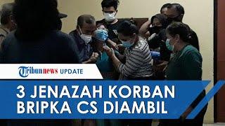 Tangis Keluarga & Penghormatan Anggota TNI Iringi Pengambilan 3 Jenazah Korban Penembakan Bripka CS