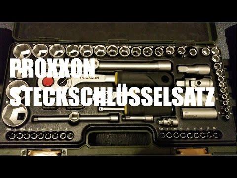 Proxxon Steckschlüsselsatz - Werkzeug Test metoo 83