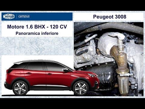 2 Peugeot 3008 VIDEO Panoramica inferiore