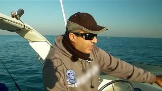 Рыбалка с яхты на средиземном море