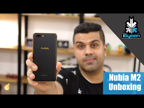 Nubia M2 Unboxing and Hands On - iGyaan