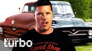 Transformaciones Extremas: Ford F-100 1953 | Classic Car Studio | Discovery Turbo