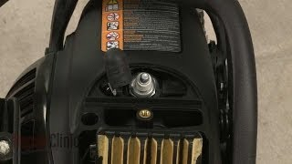 Craftsman Chainsaw Won't Start? Spark Plug Replacement #848