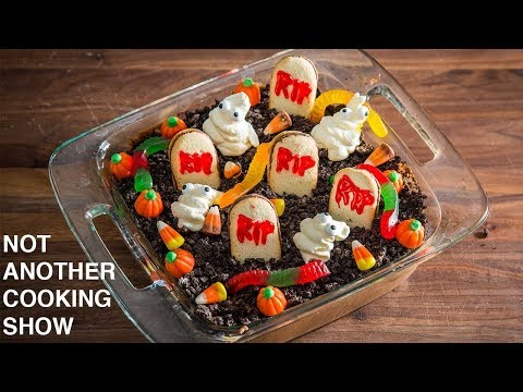 HOW TO MAKE A BETTER GRAVEYARD PUDDING | HALLOWEEN PARTY IDEA