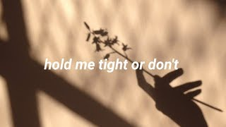 Fall Out Boy - HOLD ME TIGHT OR DON'T  [Lyrics]