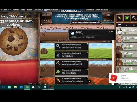 HOW TO HACK COOKIE CLICKER COOKIES AND SUGAR LUMPS *INFINITE* Mp3