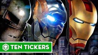 Top 10 sự thật thú vị về các bộ giáp của Iron Man | Ten Tickers No. 30