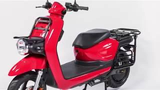 PINK van SWIR bezorg elektrische scooter