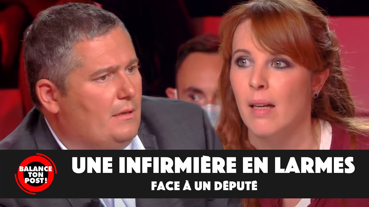 Vanessa, infirmière refusant la vaccination, en larmes face au député Julien Borowczyk