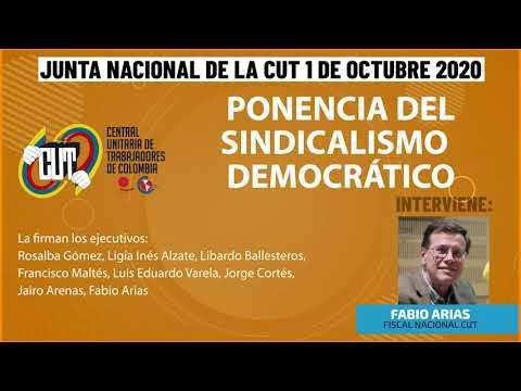 Ponencia del Sindicalismo Democrático en la Junta Nacional de la CUT -1 de Octubre 2020