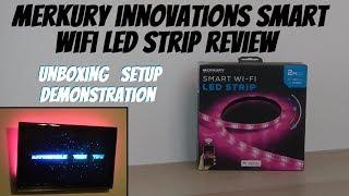 Merkury Innovations Smart Wifi LED Strip Review