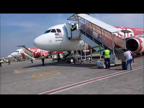 Husein Sastranegara Airport In Bandung Indonesia - Boarding To KLIA2 #daenkmarHOLIDAY