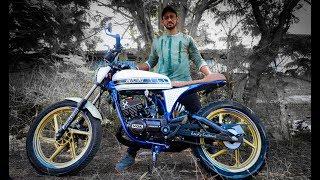 Modified Bajaj Pulsar Into CafeRacer By Dirt Machine Custom