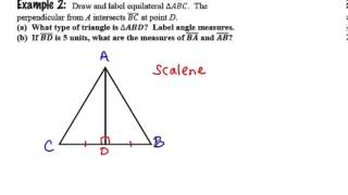 Geometry Review & Special Right Triangles