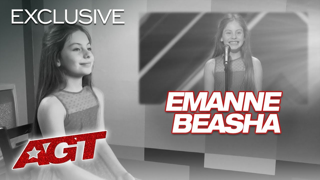 Singer Emanne Beasha Is Thrilled About Simon Cowell's Approval! - America's Got Talent 2019 thumbnail