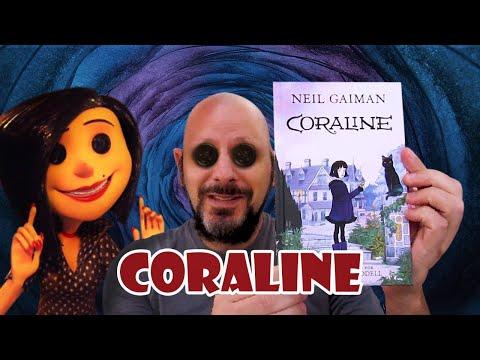 Resenha Coraline de Neil Gaiman ilustrada por Chris Riddell
