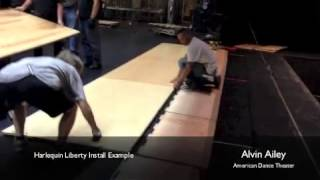Alvin Ailey Liberty Panel Floor Video de Instalacion