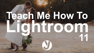"""How to Create A """"Looks Like Film"""" for Weddings In Lightroom - Teach Me How to Lightroom - 011"""