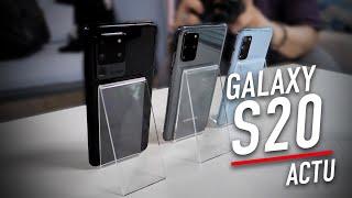 Samsung Galaxy S20 : on les a essayés, nos premières impressions !