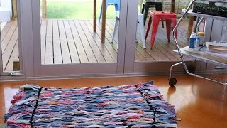 Youtube thumbnail for How to make a rag rug