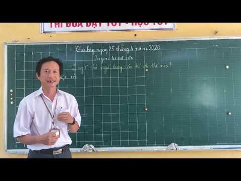 Môn LTVC lớp 4, bài Vị ngữ, chủ ngữ trong câu kể Ai thế nào? (GV Phạm Văn Thành, Trường TH C Phú Mỹ)