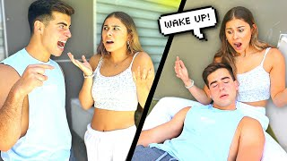 Starting An ARGUMENT Then PASSING OUT Prank!