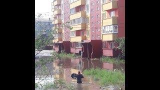 Powódź w mieście Chyta w Rosji
