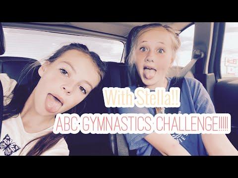 ABC GYMNASTICS CHALLENGE!!!!!