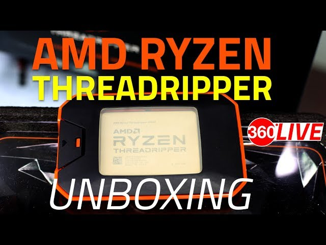 AMD Announces Second-Gen Ryzen Threadripper CPUs With Up to
