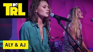 Aly & AJ Perform 'Promises' | TRL Weekdays At 4pm