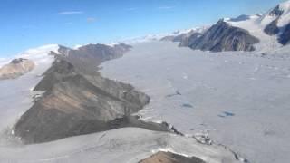 'Mega-nunatak', Milne Glacier, N. Ellesmere Island
