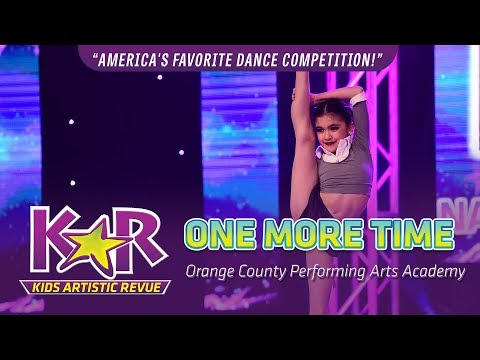 """""""One More Time"""" from Orange County Performing Arts Academy"""