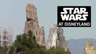 Disneyland - 11/2/18 Star Wars: Galaxy's Edge Construction Update/View from Tarzan's Treehouse