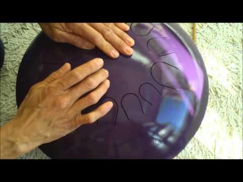 Tambor SOLARIS - Interpretado con las manos - 12 notas musicales