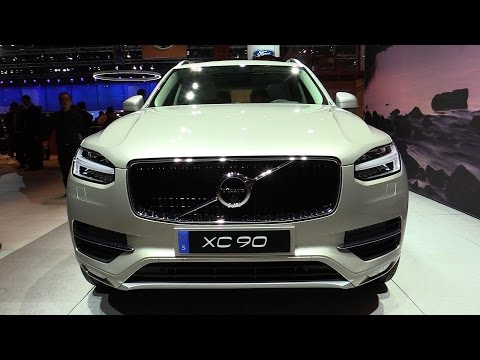 2015 Volvo XC90 T6 AWD - Exterior and Interior Walkaround - Debut at 2014 Paris Auto show