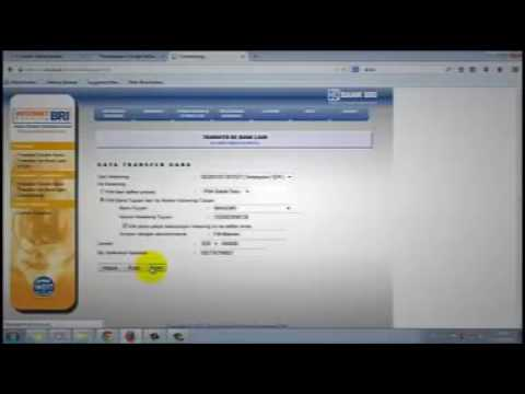 Bank BRI Internet Banking