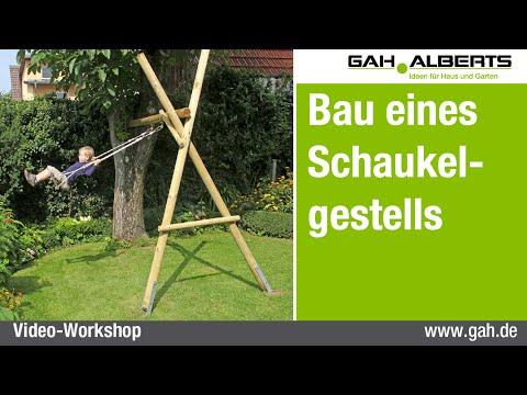 GAH-Alberts: Ein Schaukelgestell aus Holz bauen