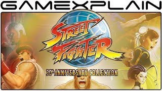 Street Fighter 30th Anniversary Collection Adding VS & Training Modes in Day One Patch