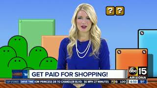 Get paid for shopping!