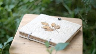 HOW TO MAKE REFILLABLE NOTEBOOK - Part 1: 2 Holes | DinLife
