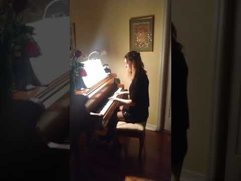 Silent Night by Lorie Line, performed by Hannah Walker