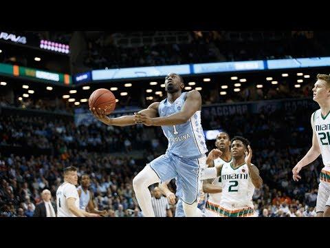 UNC Men's Basketball: Pinson Leads Tar Heels Past Hurricanes, 82-65