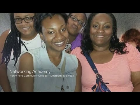 Networking Academy helps mom start new career